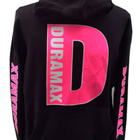 Duramax Hot Pink  hooded sweatshirt
