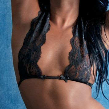 hot lingeries bust lace wrap nessy by vees on Etsy