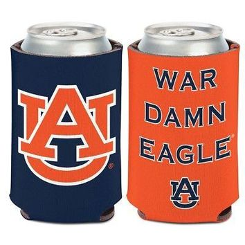 AUBURN TIGERS WAR DAMN EAGLE KADDY KOOZIE CAN HOLDER NEW WINCRAFT