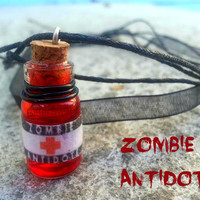 Zombie Antidote Bottle Necklace