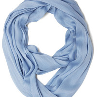 Brighten Up Circle Scarf in Periwinkle