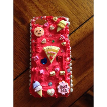 Kawaii Pink Sweets Decoden iphone 5s case