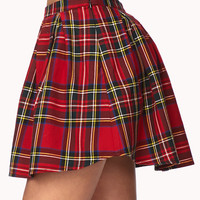 Cool Girl Plaid Skirt