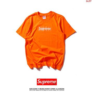 2017 New Fashion  Supreme T Shirts Short Sleeved For Women 309837