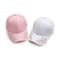 Plum Flower Embroider Baseball Caps, Snapback Hip Hop Hat