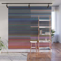 scanner stripes Wall Mural by duckyb