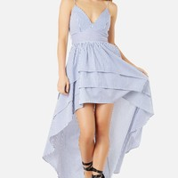 Ruffle You Hi-Low Dress