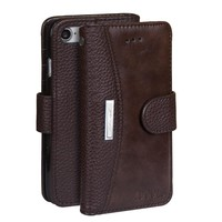 For iPhone 7 Case Cover Leather Dirt Resistant Wallet Flip Cover Mobile Phone Cases for iPhone 7 Bags With Card Holder IDOOLS