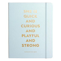 2016 kate spade new york Large Agenda - Quick and Curious