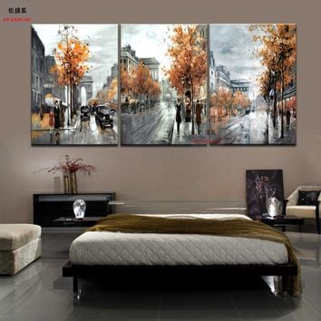 3 Piece Modern Picture Cuadros Decoracion Canvas Oil Painting Art Pictures Wall Paintings Pintura For Living Room Wall No Frame
