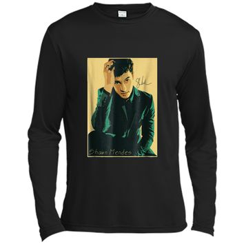 Amazing-Crazy-Shawn-Mendes-Funny  Costume Gift Tees Long Sleeve Moisture Absorbing Shirt
