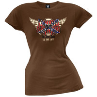 Lynyrd Skynyrd - Road Home 77 Juniors T-Shirt