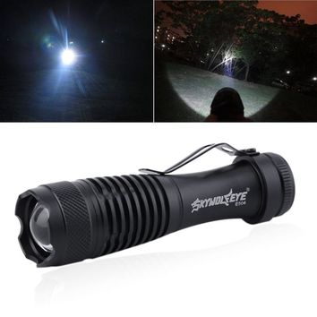 LED Flashlight Clip Powerful Mini Pocket Flashlight