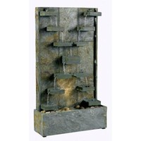 Kenroy Home Watercross Indoor/Outdoor Fountain-50375SL at The Home Depot