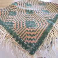 Small Woven Tapestry Tapestry Wall Hanging Small rug by SundayTown