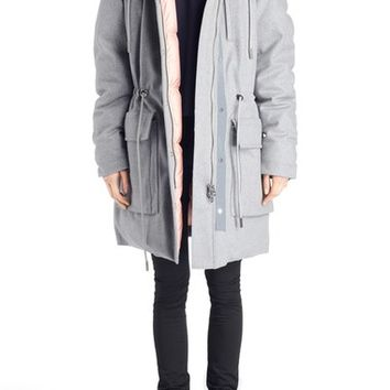 ACNE Studios 'Alston' Wool Blend Coat | Nordstrom