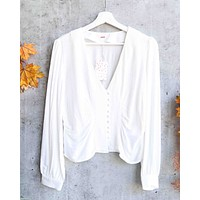 Free People - Maise Top - White