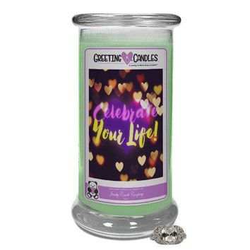 Celebrate Your Life! | Jewelry Greeting Candles