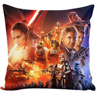 Star Wars The Force Awakens Couch Pillow