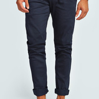 Skinny Stretch Ankle Length Chino's with Belt