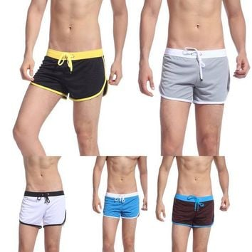 DCCK7N3 Summer Wear Men's Swimwear Trunks Sports Wear Sexy Short Beach Summer Pants Swim Suits Sport Suits Sport Underwear men briefs