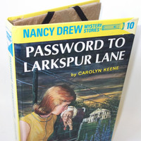 Book Ereader Cover for Kindle Nook Kobo Nancy Drew Larkspur Lane  by retrograndma