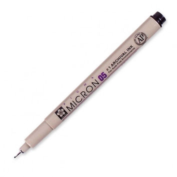 Pigma® Micron® Archival Ink Pen 05 (.45mm)