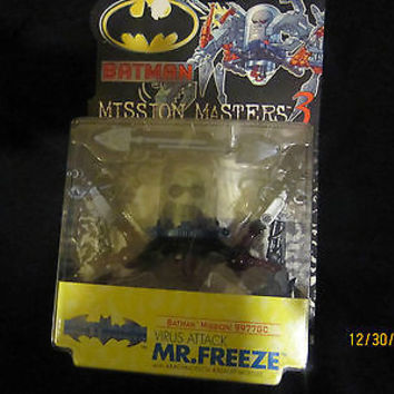 """BATMAN MISSION MASTERS 3 MR. FREEZE"" NO RESERVE"