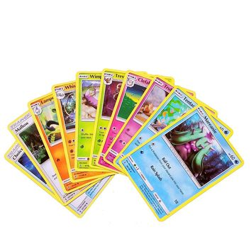 60 100 120 200 324PCS English Charizard EX GX MEGA Cards Charmander Carte Trading Card Game For children Christmas Pokemons Gift