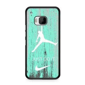 CREYUG7 Nike Jordan Mint Wood HTC One | M9 case