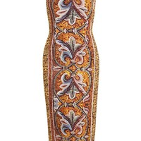 DOLCE & GABBANA | Mosaic Printed Crepe Dress | Browns fashion & designer clothes & clothing
