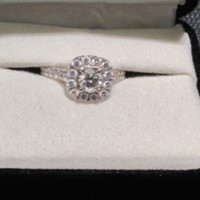 Have You Seen the Ring?: NEIL LANE DIAMOND ENGAGEMENT RING 1 1/8 CT TW ROUND-CUT 14K WHITE GOLD