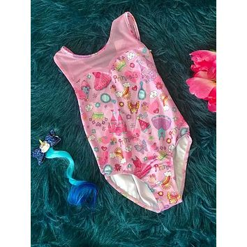 New Back To School Princess Dance & Gymnastics Leotard