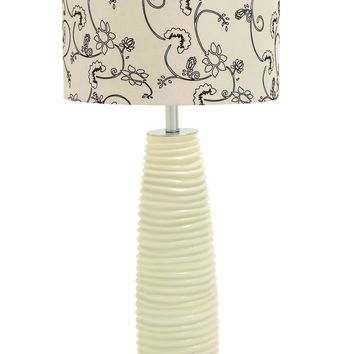 "32""H Contemporary Table Lamp Crafted With A Unique Style Brand Benzara-40143"