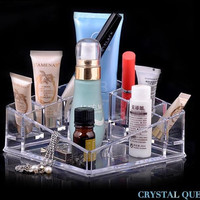 New Cosmetic Drawers Organiser Make Up Container Transparent Acrylic Jewelry Box Cabinets Storage Box Gift
