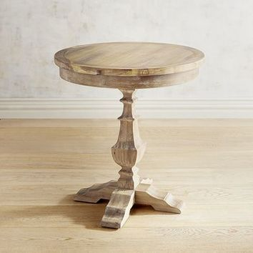 Bradding Round End Table