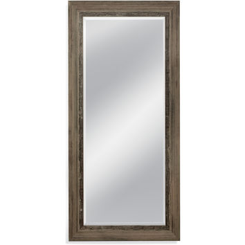 "Bassett Mirror Nevin Leaner Mirror Rustic Natural 38"" x 80"" - M3972BEC"