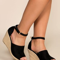 Soho Wedges - Black