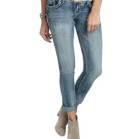 Belted Roll Cuff Jean | Shop Sale at Wet Seal