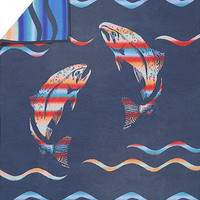 Pendleton ® Blankets, Spirit of the Salmon Native American Indian Blanket