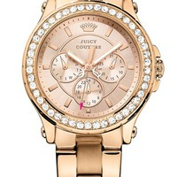 Juicy Couture 'Pedigree' Multifunction Bracelet Watch, 38mm