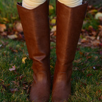 Camille Boots - Tan