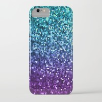 Mosaic Sparkley Texture G198 iPhone & iPod Case by MedusArt