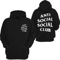 Anti Social Social Club Mind Games Hooded Sweatshirt