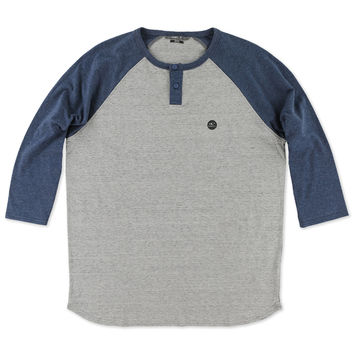 O'Neill Men's The Bay Henley Raglan Knit Shirt