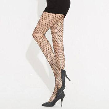 ONETOW Socks Fashion Punk Sexy Hollow Out Leggings [11723933647]