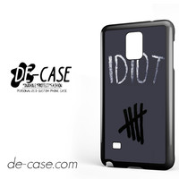 Idiot 5sos Hater For Samsung Galaxy Note 4 Case Phone Case Gift Present