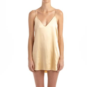 Zillah Slip Dress - Gold