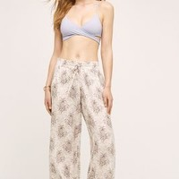 Pineapple Beach Pants by Swim by Anthropologie in Gold Size: