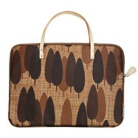 ORLA KIELY Alpine Forest Medium Laptop Skin in Conker